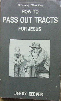 Image for How to pass out tracts for Jesus.