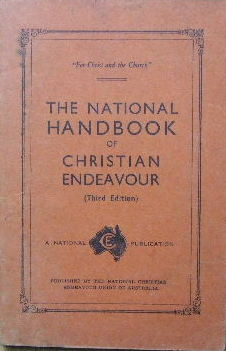 Image for The National Handbook of Christian Endeavour.