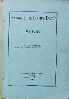 Image for Sabbath or Lord's Day?: Which?