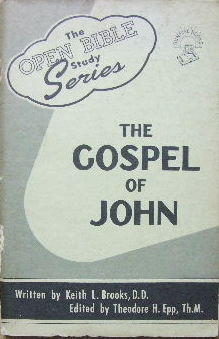 Image for The Gospel of John  (The Open Bilbe study series)