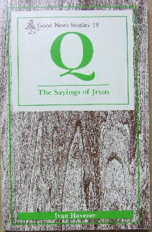 Image for The Sayings of Jesus  (Good News Studies 19)