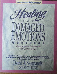 Image for Healing for Damaged Emotions - Workbook.