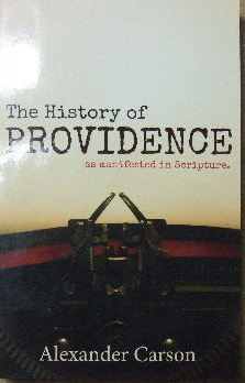 Image for The History of Providence  as manifested in Scripture