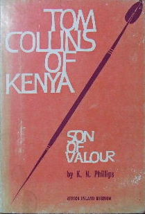 Image for Tom Roberts of Kenya - Son of Valour.