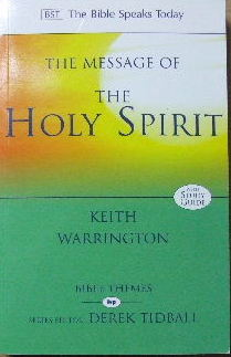 Image for The Message Of The Holy Spirit  The Spirit of encounter