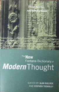 Image for The New Fontana Dictionary of Modern Thought.