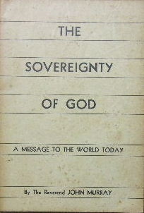 Image for The Sovereignty of God.