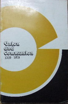 Image for Union and Communion 1529-1979  Papers read at the 1979 Conference
