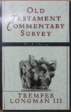 Image for Old Testament Commentary Survey.