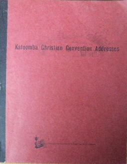 Image for Katoomba Christian Convention Addresses 1963-64.