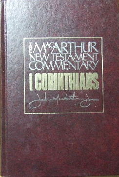 Image for 1 Corinthians  The MacArthur New Testament Commentary