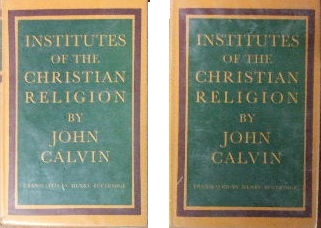 Image for Institutes of the Christian Religion