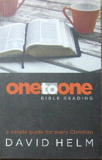 Image for One to One Bible Reading  A simple guide for every Christian