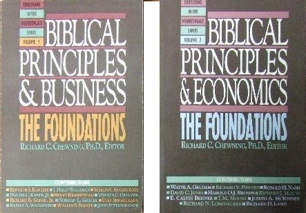 Image for Biblical Principles and Business  (Christians in the Marketplace series)