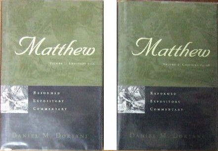 Image for Matthew  (Reformed Expository Commen tary