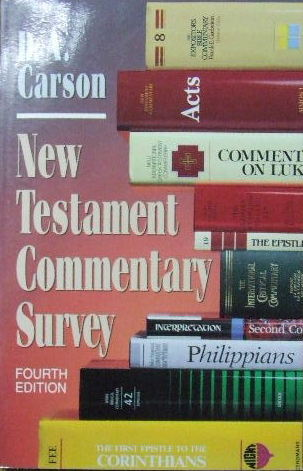 Image for New Testament Commentary Survey.