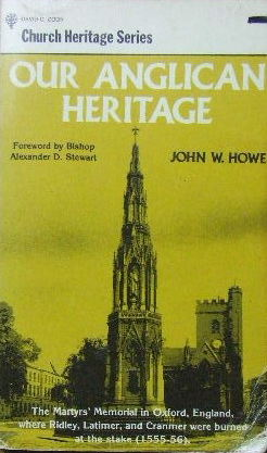 Image for Our Anglican Heritage  (Church Heritahe series)