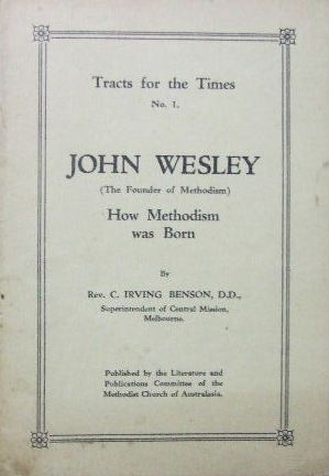 Image for John Wesley - how Methodism was born  (Tracts for the Times No.1)