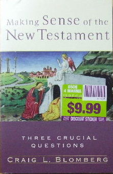 Image for Making Sense Of The New Testament.