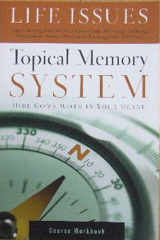 Image for Topical Memory System - Course Workbook  Hide God's Word in your heart
