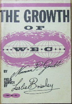 Image for The Growth of W.E.C.  Field Survey by Leslie Brierley