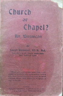 Image for Church or Chapel - an Eirenicon.