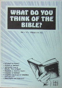 Image for What do you think of the Bible?