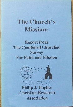 Image for The Church's Mission  Report from the combined churches survey for faith and mission