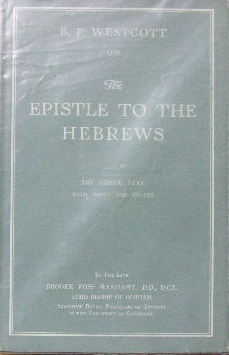 Image for The Epistle to the Hebrews  The Greek Text with Notes and Essays