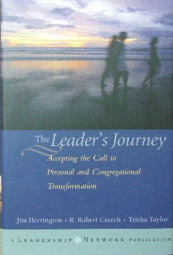 Image for The Leader's Journey  Accepting the call to personal and congregational transformation