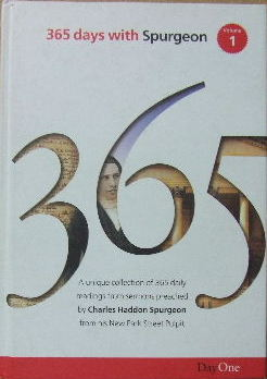 Image for 365 days with Spurgeon Volume 1   (selected and aranged by Terence Peter Crosby)