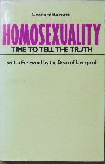 Image for Homosexuality - time to tell the truth.