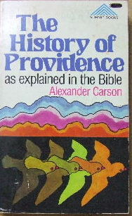 Image for The History of Providence as explained in the Bible