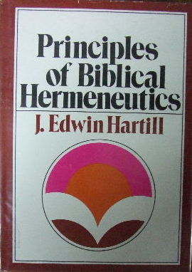 Image for Principles of Biblical Hermeneutics.