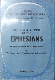 Image for The Epistle of Paul to the Ephesians  An Introduction and Commentary