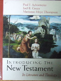 Image for Introducing the New Testament.  Its literature and theology