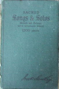 Image for Sacred Songs & Solos   (music edition)