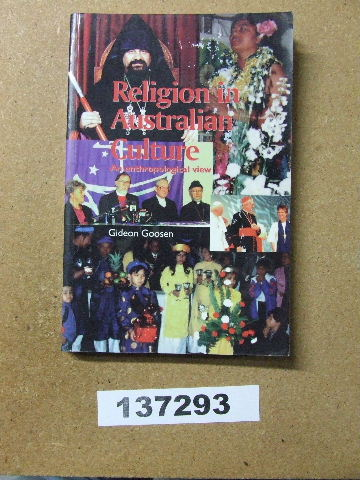 Image for Religion in Australian Culture.  An anthropological view