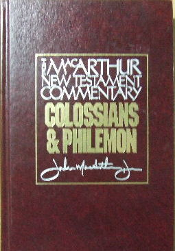 Image for Colossians & Philemon  The MacArthur New Testament Commentary