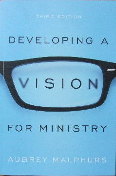 Image for Developing a vision for ministry.