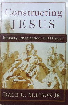 Image for Constructing Jesus: Memory, Imagination, History.