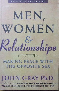 Image for Men, Women and Relationships.  Making peace with the opposite sex