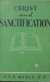 "Image for Christ and Sanctification  Chapters taken from ""Thoughts on Christian Sanctity"""