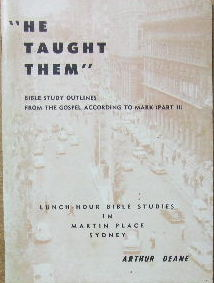 Image for He taught them.  Bible study outlines from the Gospel according to Mark (Part 2)