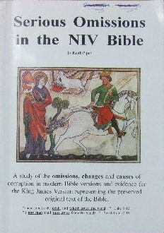 Image for Serious Omissions in the NIV Bible.