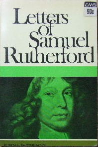 Image for Letters of Samuel Rutherford - a selection.