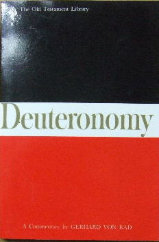 Image for Deuteronomy. A Commentary.