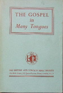 Image for The Gospel in Many Tongues.