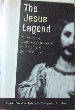 Image for The Jesus Legend  The Case for the Historical Reliability of the Synoptic Jesus Tradition