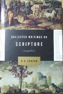 Image for Collected Writings on Scripture.